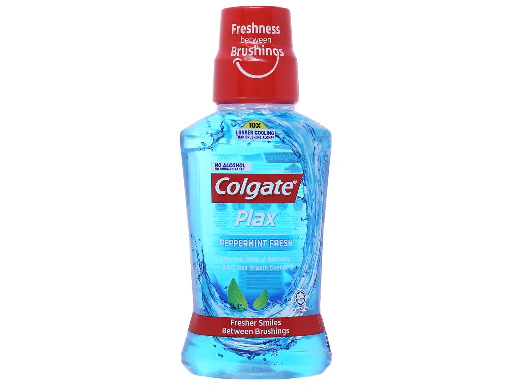 Nước súc miệng Colgate Plax Peppermint Fresh 250ml 1