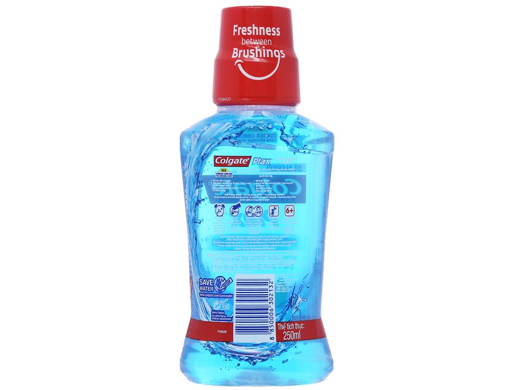 Nước súc miệng Colgate Plax Peppermint Fresh 250ml 2