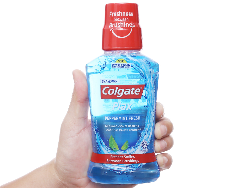 Nước súc miệng Colgate Plax Peppermint Fresh 250ml 3