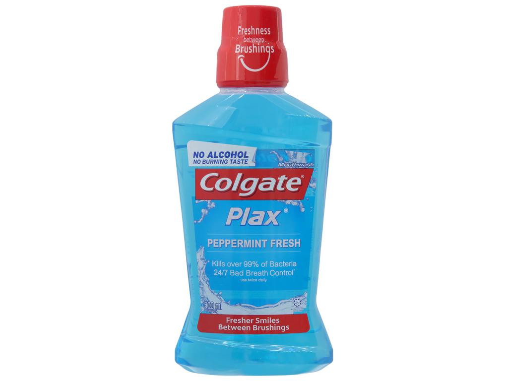 Nước súc miệng Colgate Plax Peppermint Fresh 500ml 2