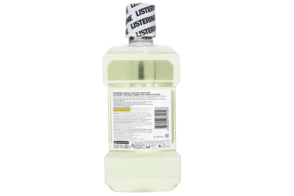 Nước súc miệng ngừa sâu răng Listerine trà xanh 500ml 3