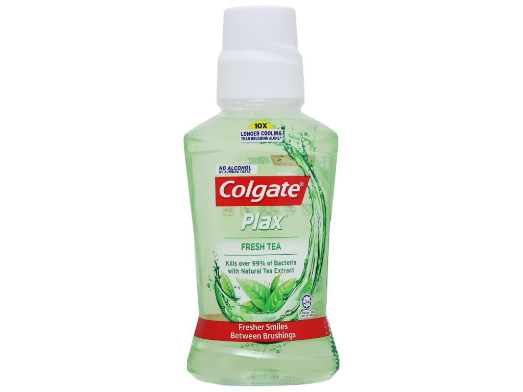 Nước súc miệng Colgate Plax Fresh Tea 250ml 2