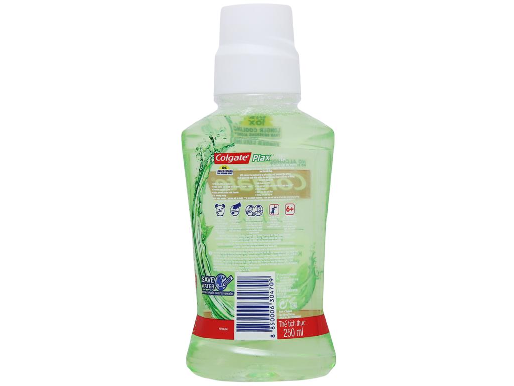 Nước súc miệng Colgate Plax Fresh Tea 250ml 3