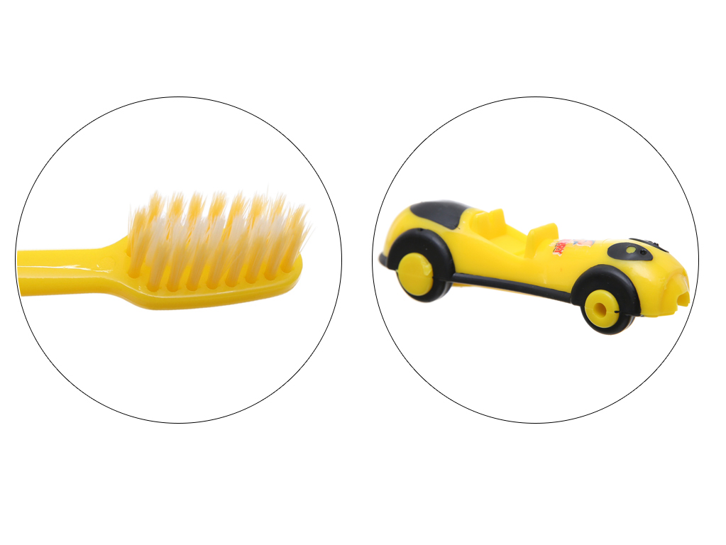 Bàn chải cho bé trên 2 tuổi Oral-Clean Formula Soft lông mềm 4