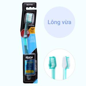 Bàn chải đánh răng REACH Original lông vừa chăm sóc toàn diện