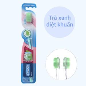 Bàn chải Oral-B Green Tea Gum Care lông siêu mềm