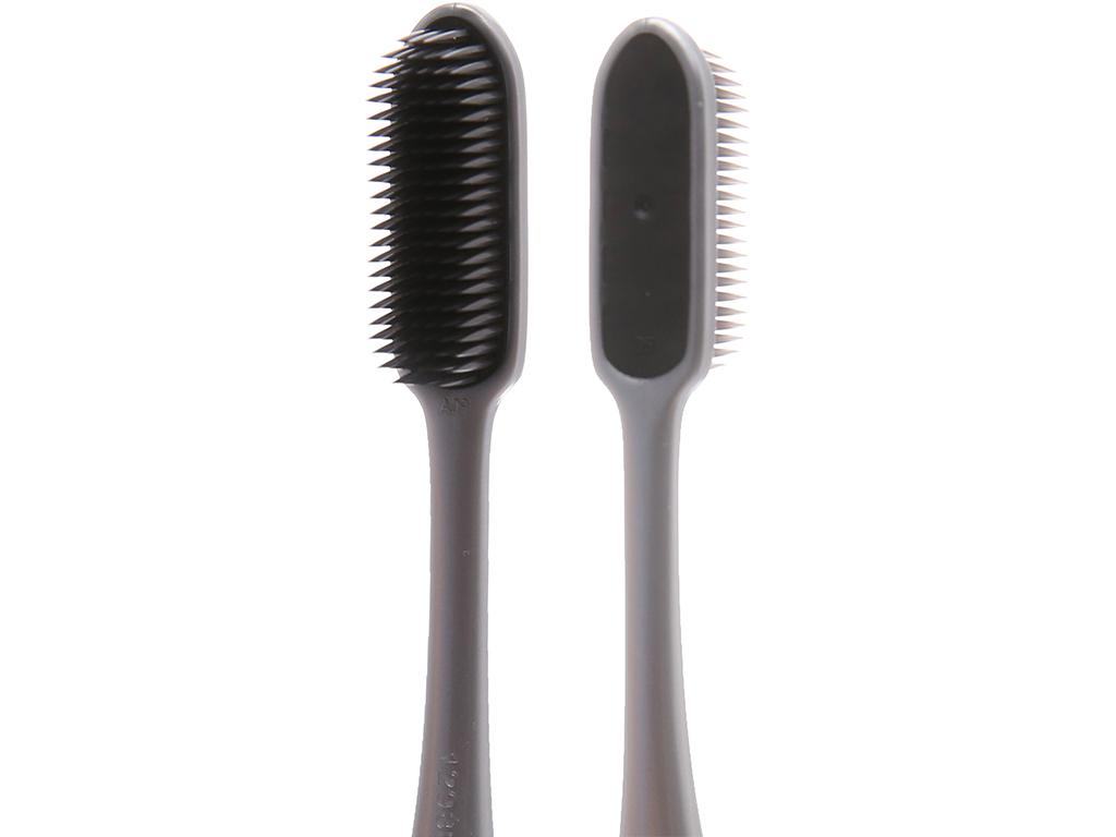 Bàn chải Colgate Flex Clean Charcoal lông chải nguyên khối 4