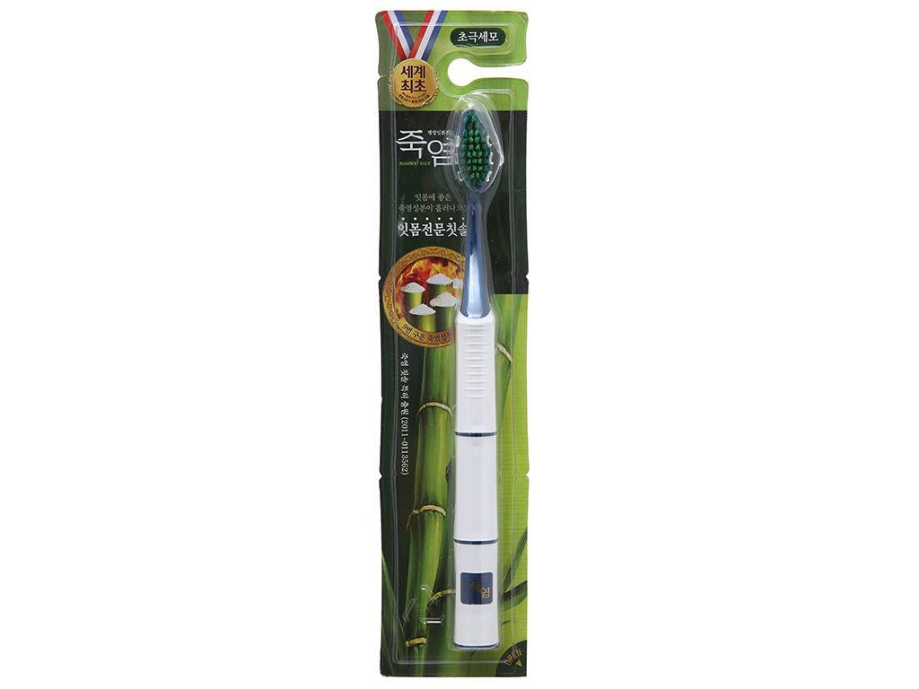 Bàn chải Bamboo Salt lông tơ mềm mại chăm sóc nướu 1