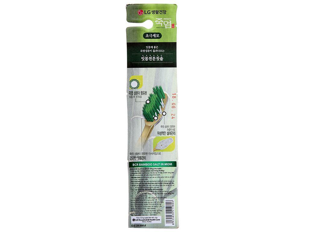 Bàn chải Bamboo Salt lông tơ mềm mại chăm sóc nướu 2
