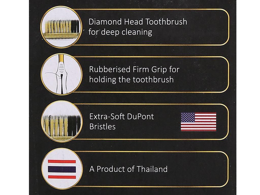 Bộ 4 bàn chải Oral-Clean Confidence lông siêu mềm 9