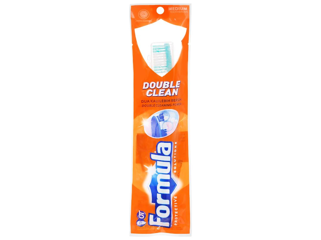 Bàn chải Formula Double Clean lông vừa 1