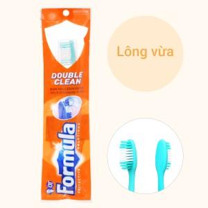 Bàn chải đánh răng Formula Double Clean lông vừa