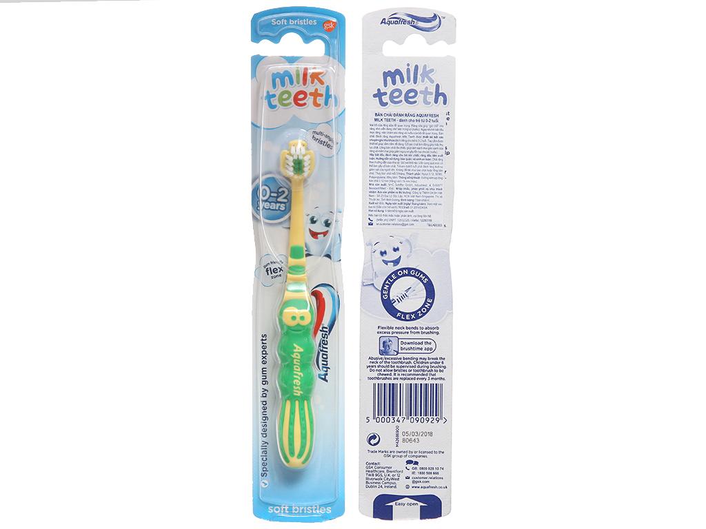 Bàn chải cho bé Aquafresh 119603 lông mềm 2