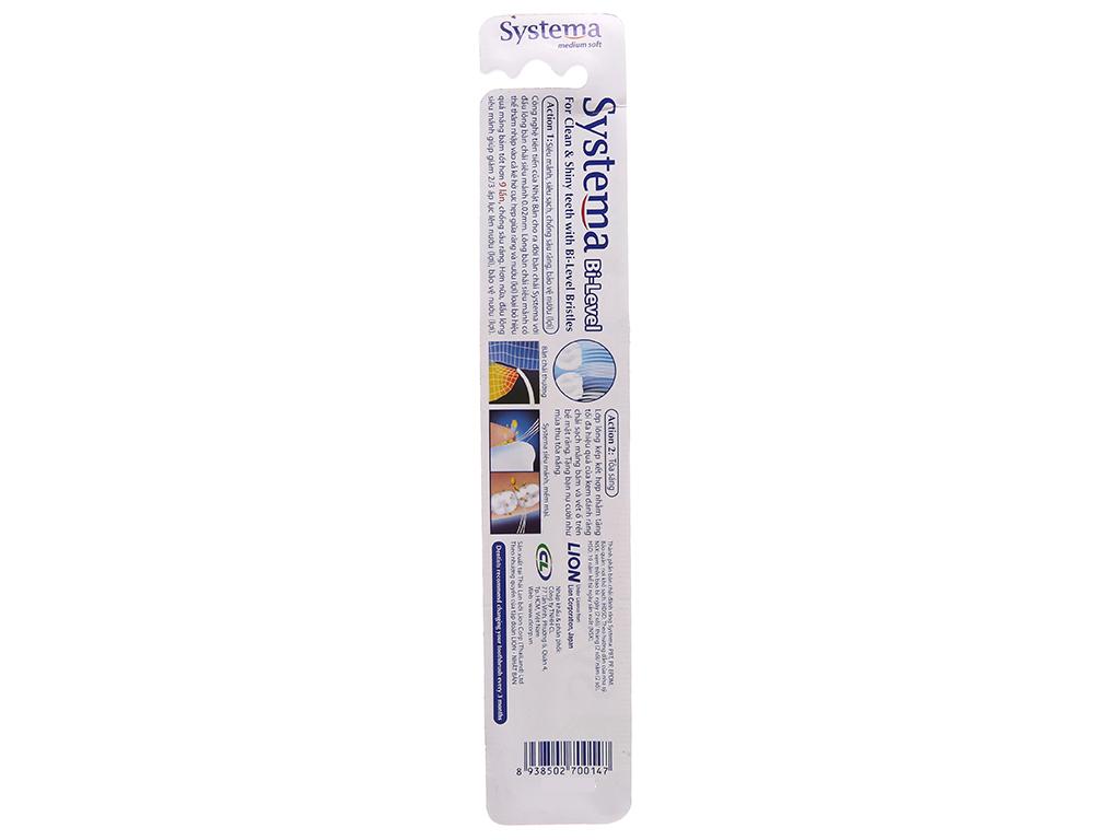 Bàn chải Systema Bi Level lông mềm 3