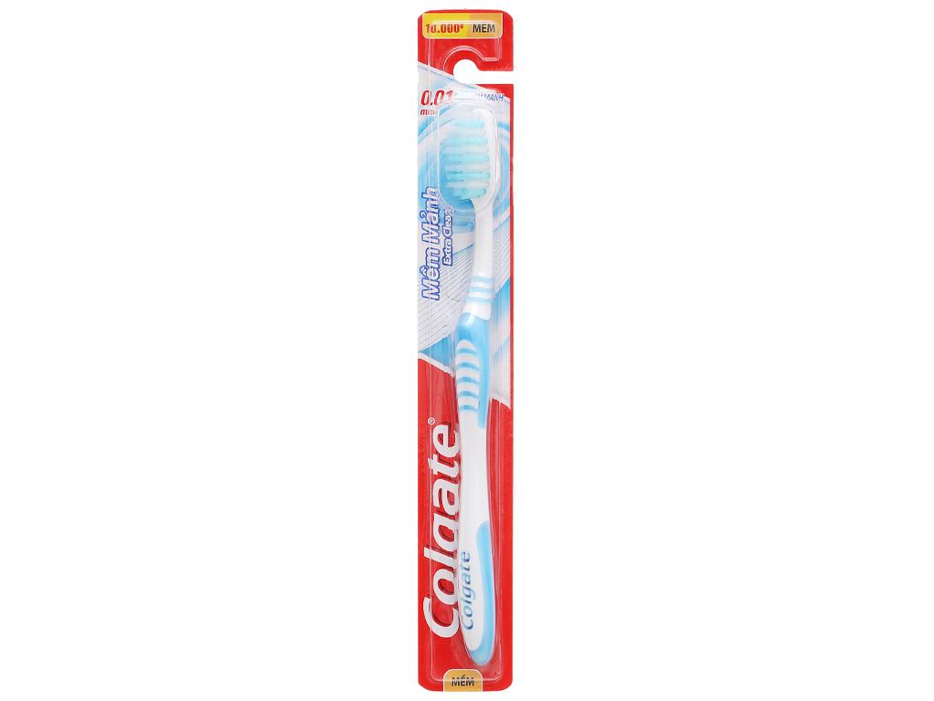 Bàn chải đánh răng Colgate Extra Clean mềm mảnh 1