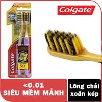 Bàn chải đánh răng Colgate Lông chải siêu mảnh xoắn kép (2 cây)