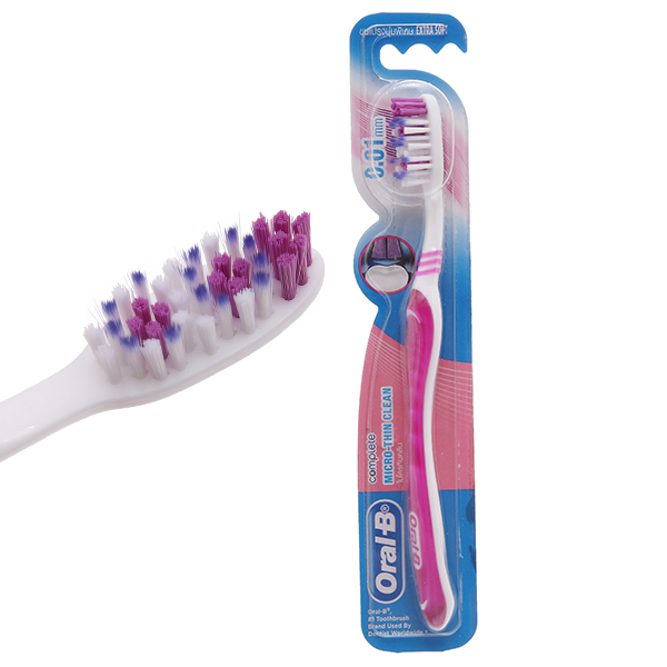 Bàn chải Oral-B Micro-Thin Clean siêu mềm mảnh
