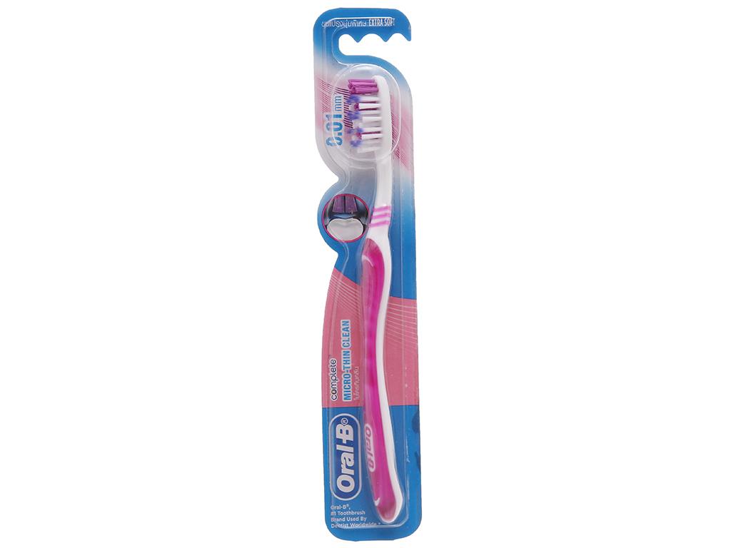 Bàn chải Oral-B Micro-Thin Clean siêu mềm mảnh 2