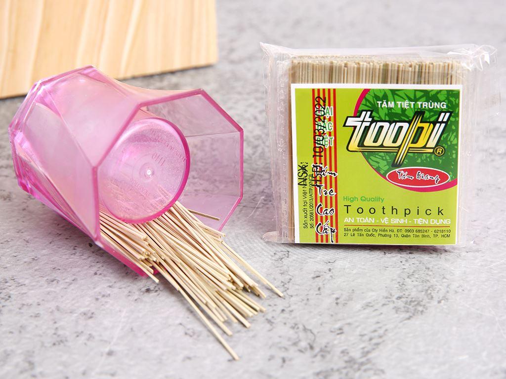 Tăm tiệt trùng Toopi 5 gói x 125 cây 4