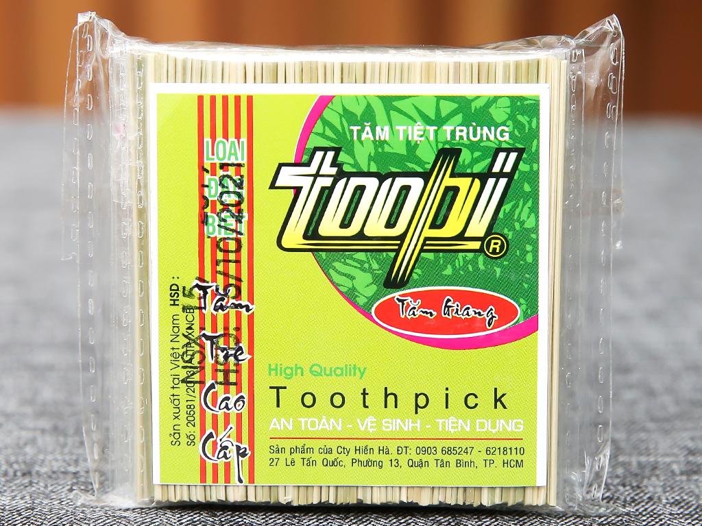 Tăm tiệt trùng Toopi 5 x 125 cây 1