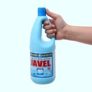 Nước tẩy quần áo trắng Lix Javel 1kg