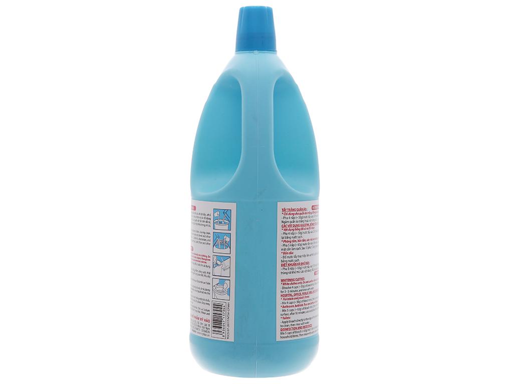 Nước tẩy quần áo trắng Mỹ Hảo javel 2kg 5