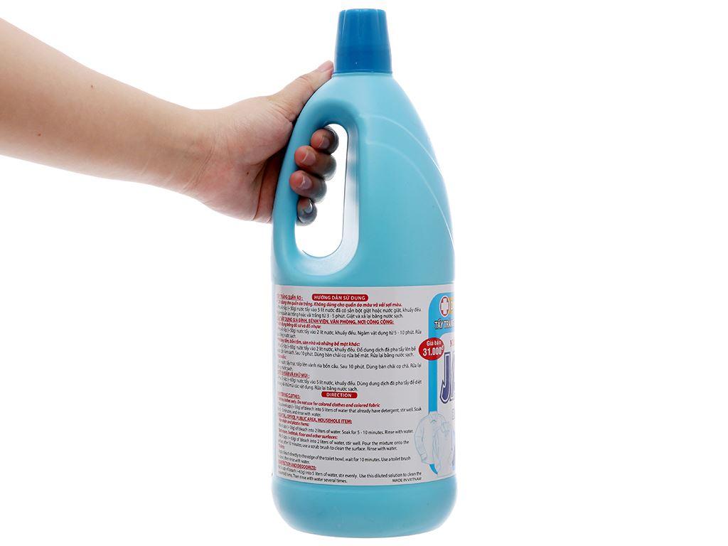 Nước tẩy quần áo trắng Mỹ Hảo javel 2kg 4