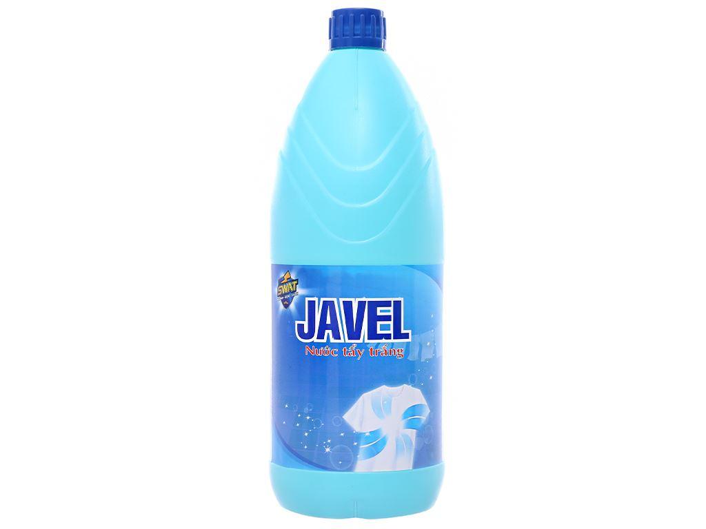 Nước tẩy quần áo trắng Swat Javel 1.2kg 2