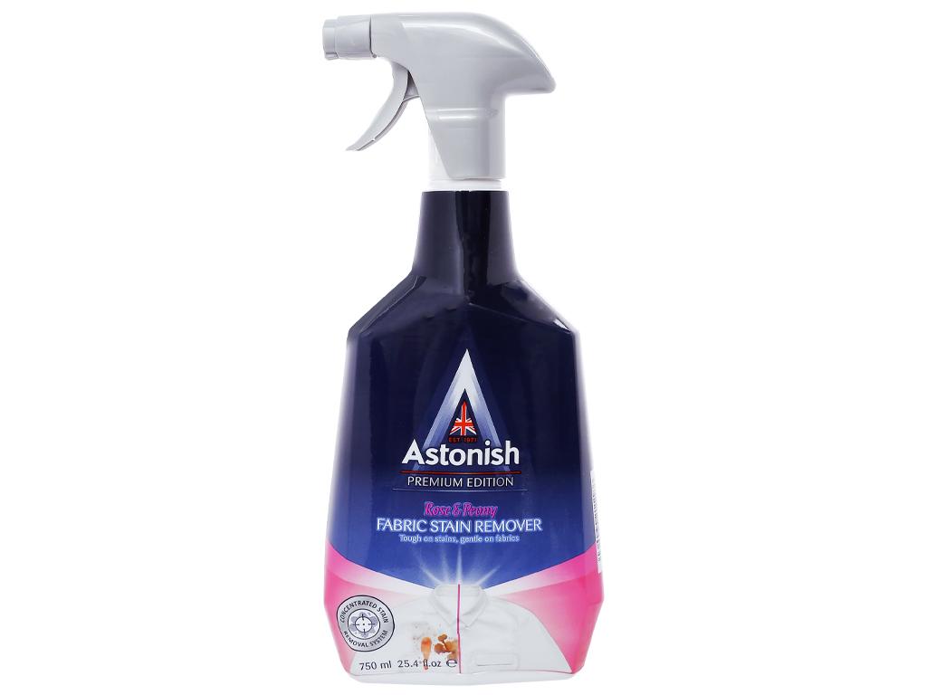 Nước tẩy cổ & tay áo Astonish Rose & Peony 750ml 1