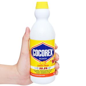 Nước tẩy quần áo trắng Cocorex Lemon Fresh 500g