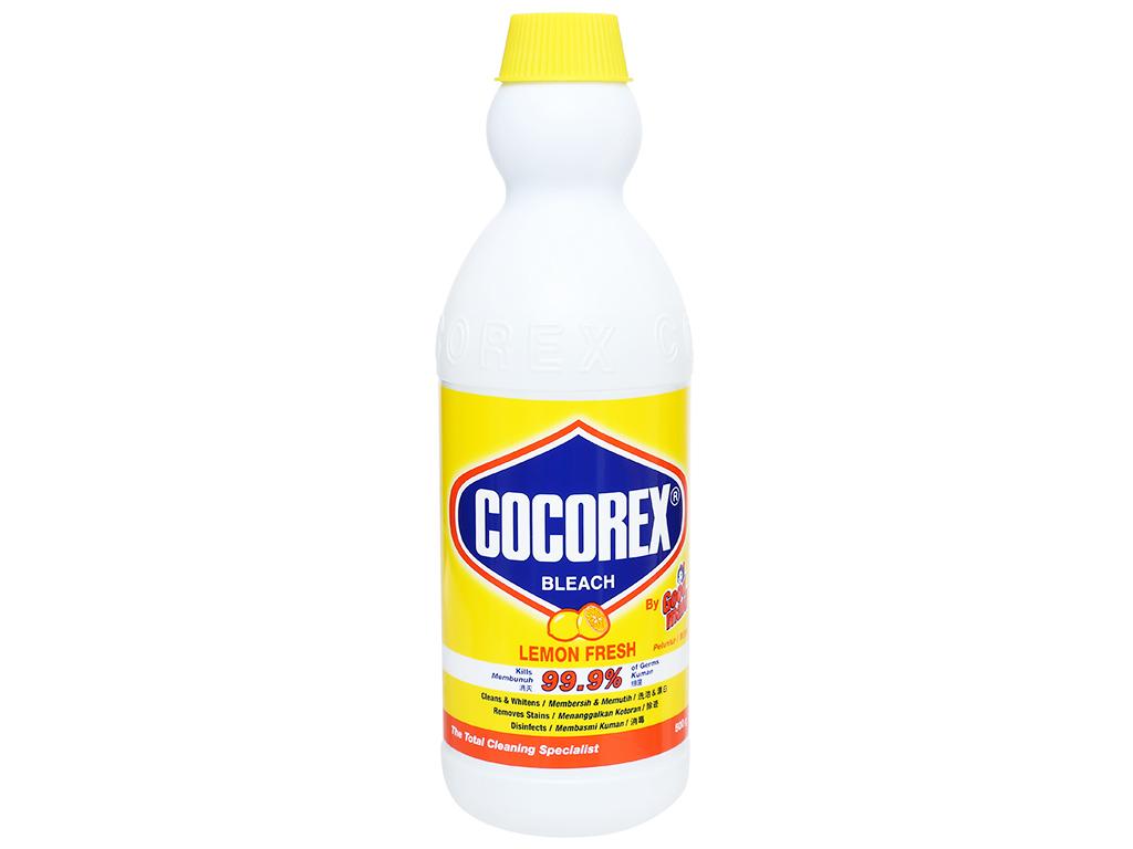 Nước tẩy quần áo trắng Cocorex Lemon Fresh 500g 1