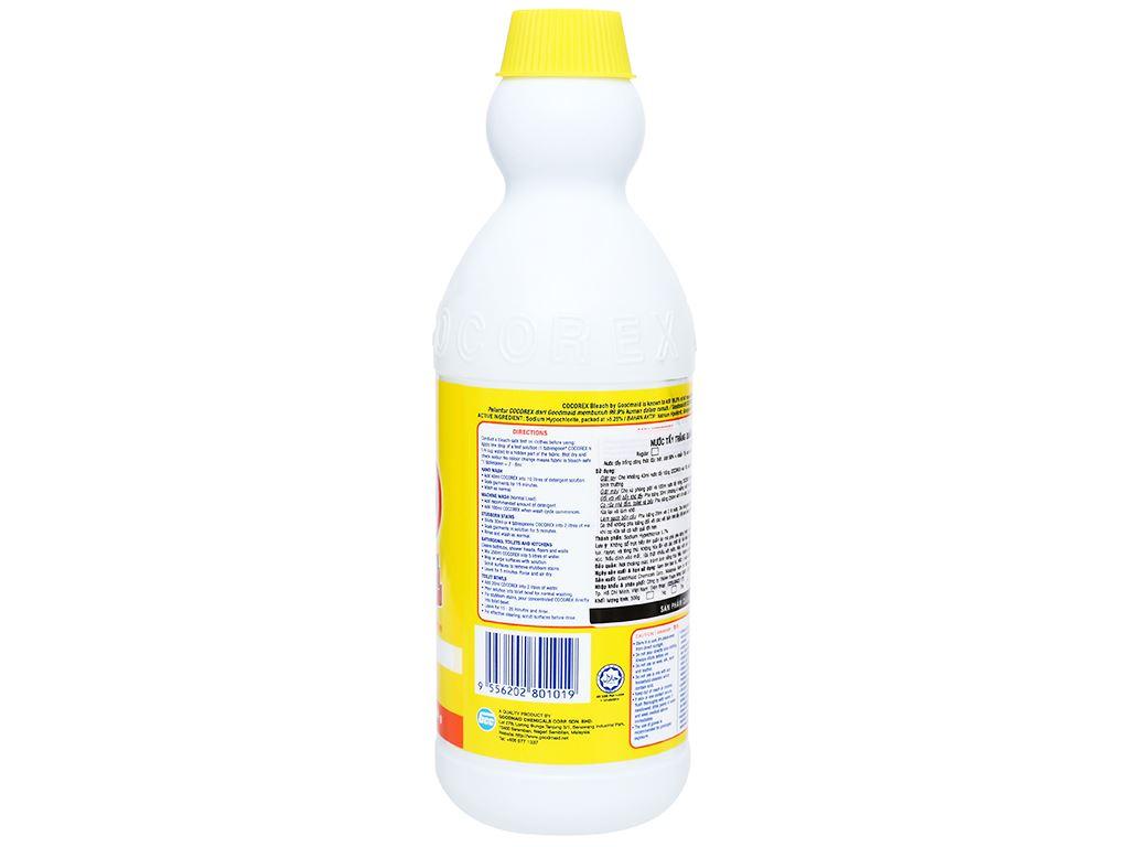 Nước tẩy quần áo trắng Cocorex Lemon Fresh 500g 2