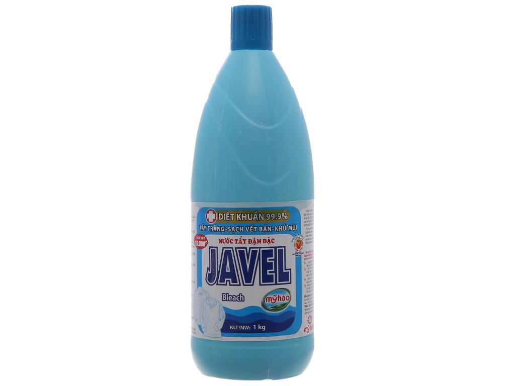 Nước tẩy quần áo trắng Mỹ Hảo Javel 1kg 2