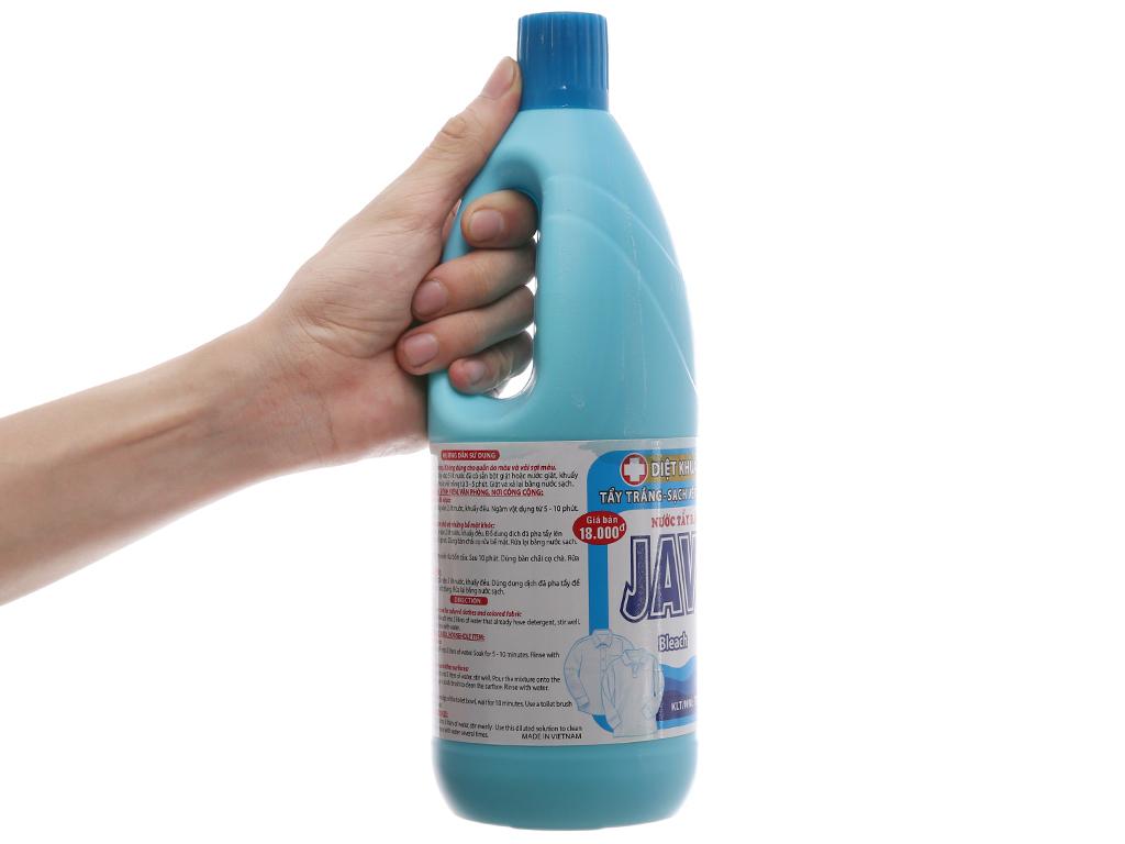 Nước tẩy quần áo trắng Mỹ Hảo Javel 1kg 5