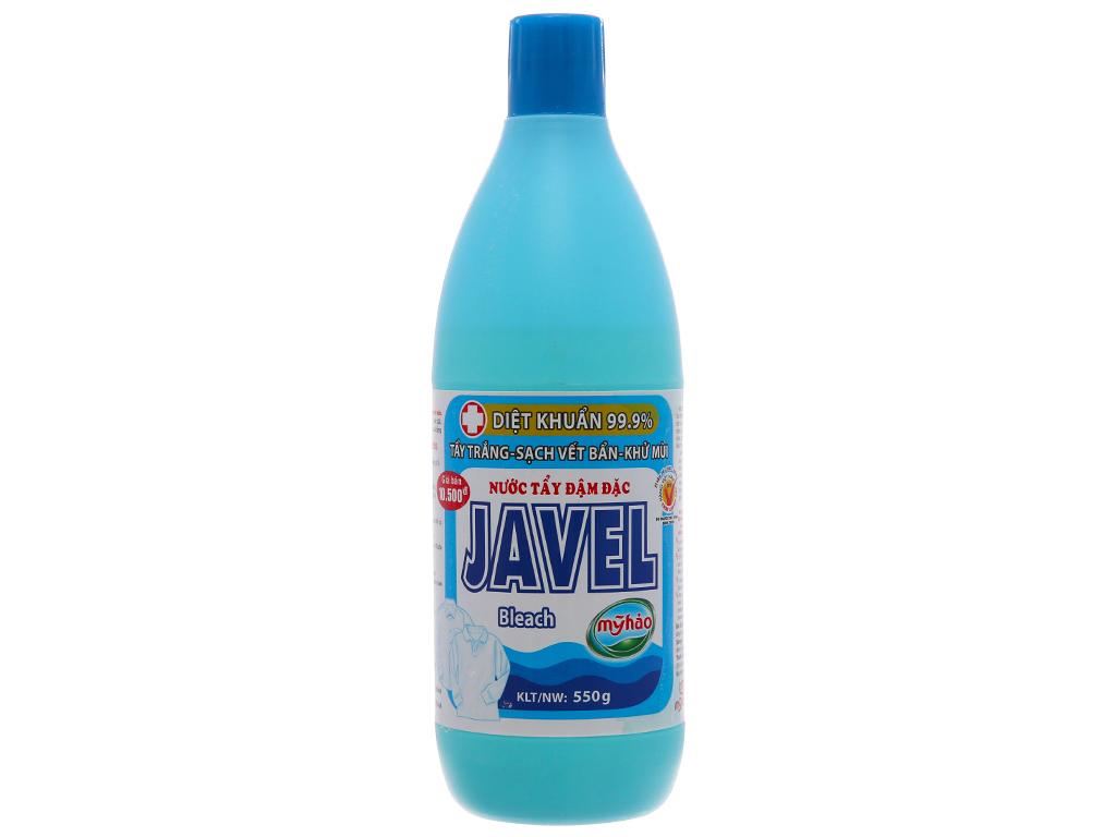 Nước tẩy quần áo trắng Mỹ Hảo Javel 550g 1