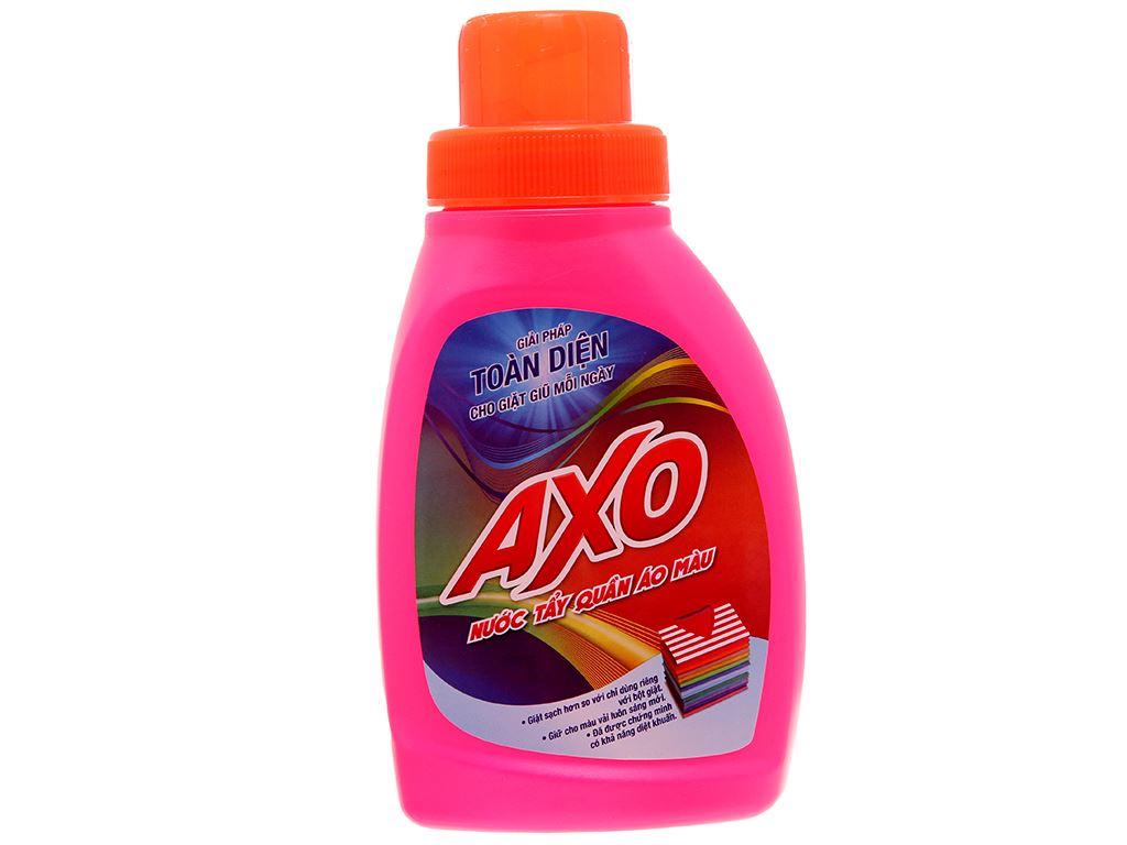 Nước tẩy quần áo màu AXO hương hoa đào 400ml 2