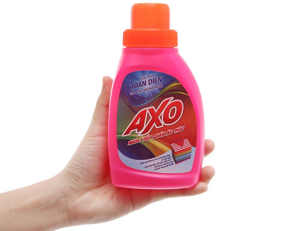 Nước tẩy quần áo màu AXO hương hoa đào 400ml 4
