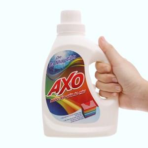 Nước tẩy quần áo màu AXO hương thanh khiết 800ml