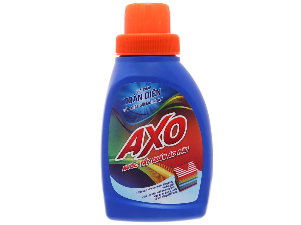 Nước tẩy Quần áo màu AXO hương tươi mát 400ml 2