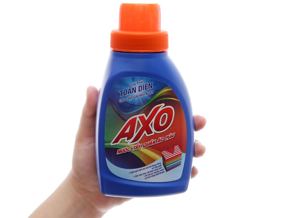 Nước tẩy Quần áo màu AXO hương tươi mát 400ml 5