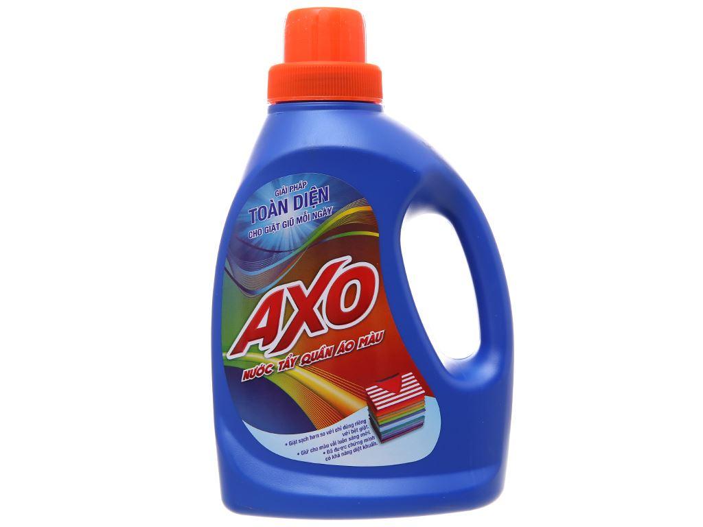 Nước tẩy quần áo màu AXO hương tươi mát 800ml 2