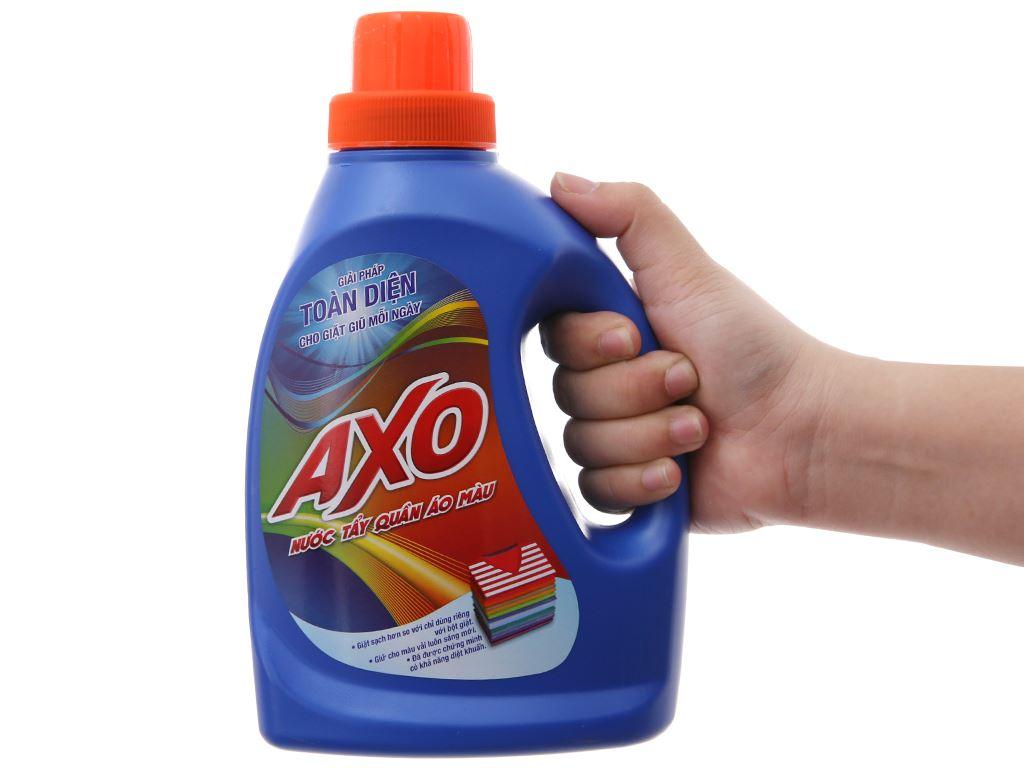 Nước tẩy quần áo màu AXO hương tươi mát 800ml 5