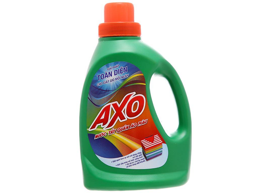 Nước tẩy quần áo màu AXO hương thông xanh 800ml 2