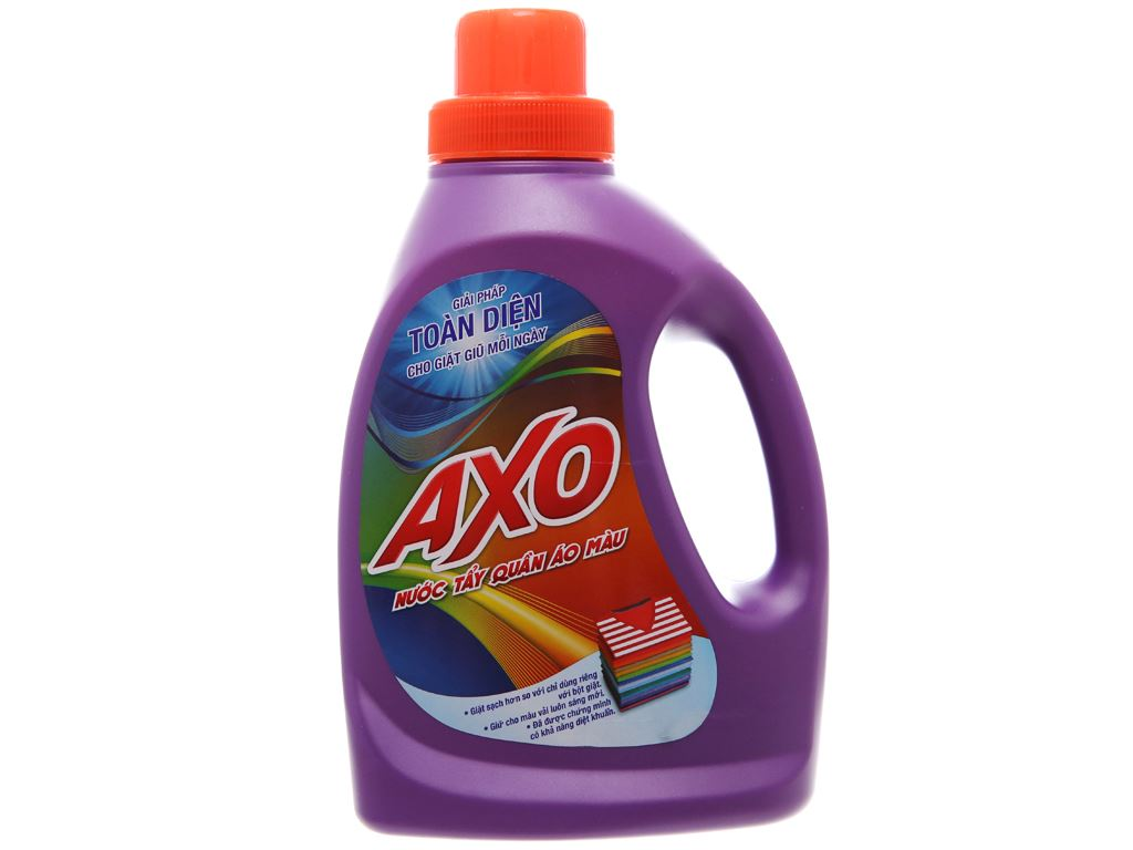 Nước tẩy quần áo màu AXO hương Lavender 800ml 2