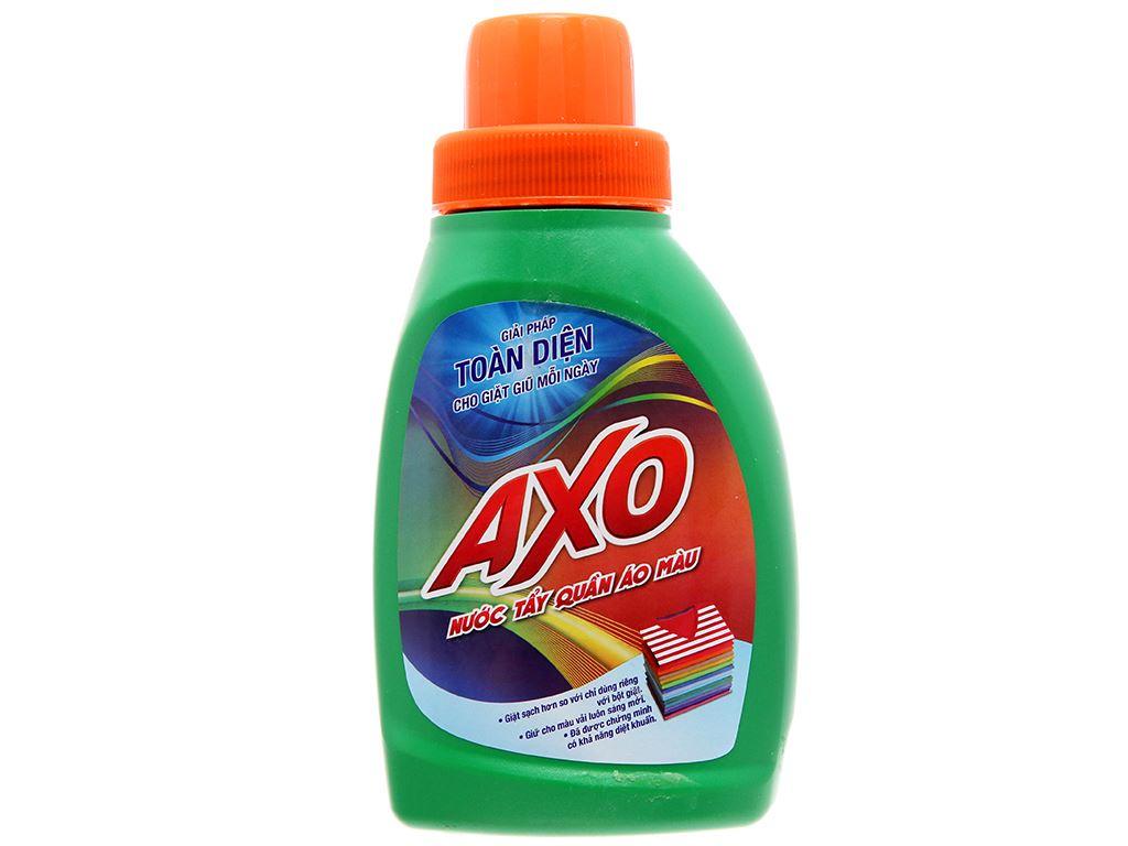 Nước tẩy quần áo màu AXO hương thông xanh 400ml 2