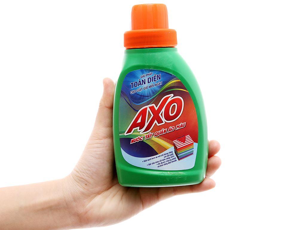 Nước tẩy quần áo màu AXO hương thông xanh 400ml 4
