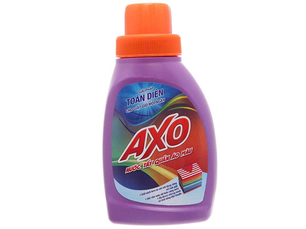 Nước tẩy quần áo màu AXO hương lavender 400ml 2