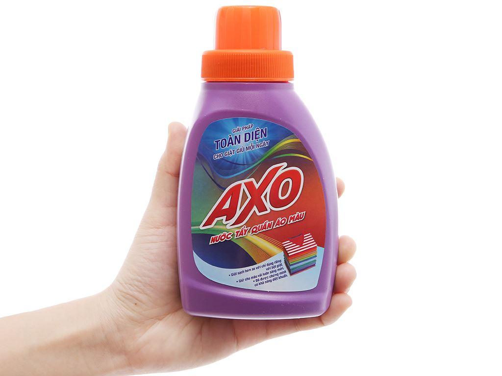 Nước tẩy quần áo màu AXO hương lavender 400ml 4
