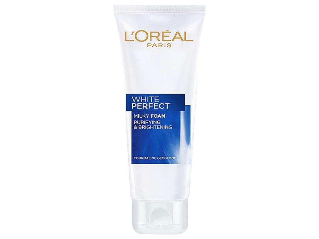 Sữa rửa mặt làm sạch và trắng mịn da L'Oréal White Perfect 50ml 1