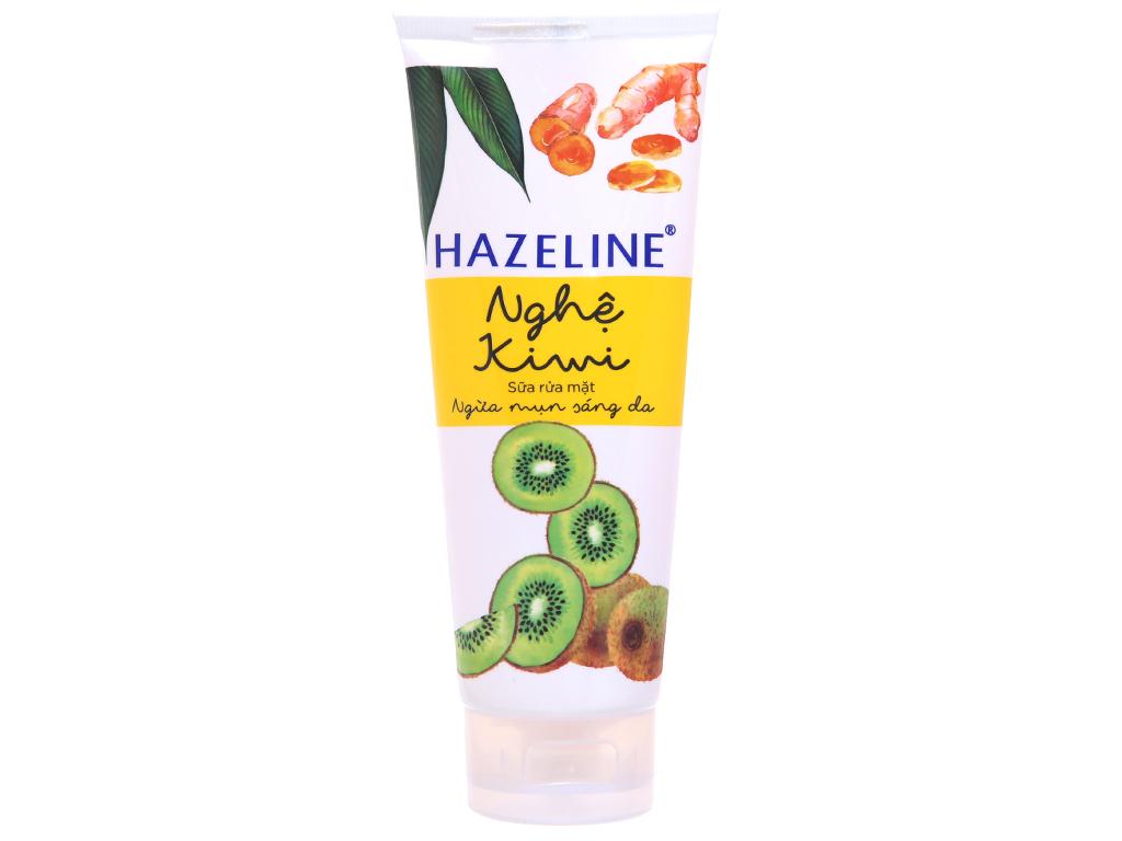 Sữa rửa mặt Hazeline nghệ, kiwi 100g 2